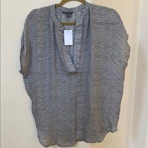 New Vince silk blouse